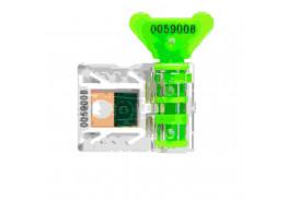 Антимагнитная номерная пломба АМ-ТФ (DUAL), зеленый