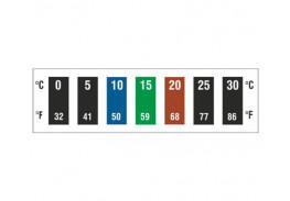 Многоразовая термоиндикаторная наклейка Hallcrest Digitemp 7