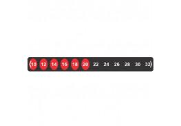 Наклейка-термометр для комнат и помещений Hallcrest Room