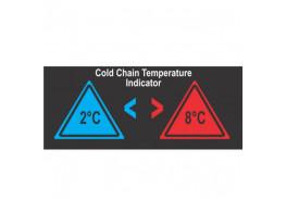 Термоиндикатор для контроля холодовой цепи Hallcrest Temprite