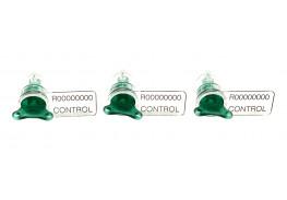 Охранная номерная пломба индикаторного типа Люмисил Плюс (роторная)