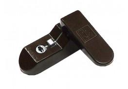 Защёлка - блокиратор Sash Lock коричневая