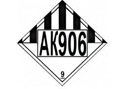 Знак опасности АК 906