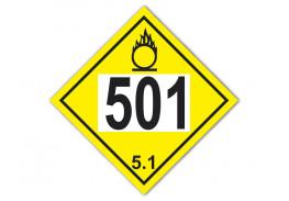 Знак опасности АК 501