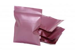 Упаковочные цветные зип пакеты Forceberg HOME & DIY с замком zip-lock 6х7 см, бордовый, 50 шт
