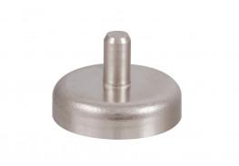 Магнитное крепление D25 со стержнем - подставка на магните для топпера, ценников, рамок, плакатов