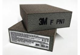 Губка четырехсторонняя, FIN, жесткая, 96 мм х 66 мм х 25 мм, 63197