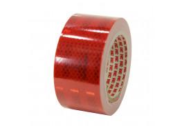Лента светоотражающая 3M 983-72, алмазного типа, красная, 53,5 мм х 10 м