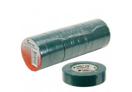 Набор изолент TEMFLEX 1300 зелёная, рулон 19 мм x 20 м 10 шт