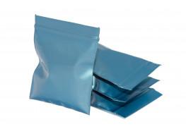 Упаковочные цветные зип пакеты Forceberg HOME & DIY с замком zip-lock 6х7 см, синий, 50 шт