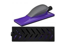 Шлифок с мультипылеотводом Hookit™ Purple+, средний, 70 мм x 198 мм